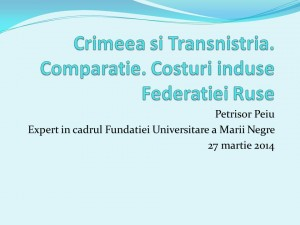 Crimeea si Transnistria