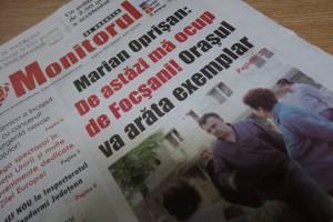 Pupincursim pe prima pagina a ziarului rosu