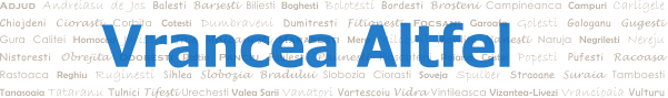 Vrancea Altfel - Blog de atitudine civica