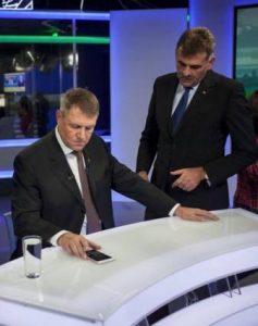 Manuel Plesa, alaturi de presedintele Klalus Iohannis in campania pentru alegerile prezidentiale
