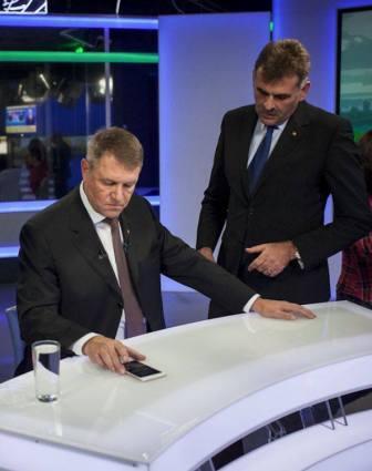 Plesa Manuel, alaturi de presedintele Klaus Iohannis