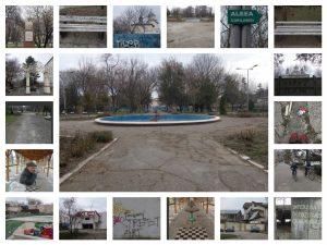 Imagini din parcul Nicolae Balcescu din Focsani